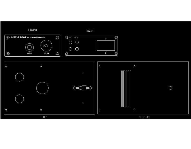 6N3+6N5P Tube Headphone amp Little bear p8 sepp puro tubo della valvola amplificatore per cuffie pre-amp metallo hifi audio