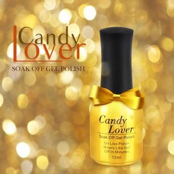 Конфеты любовник замочить от из светодиодов / уф-гель цвет ногтей 300 мода цвет длительное ногтей 12 мл / 0.4 унц. выберите любой цвета