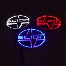 5D Car Logo Light Case For Scion 12.5*8.5cm Car Badge Light Auto LED Logo Light Auto Emblem Light For Decoration(China (Mainland))