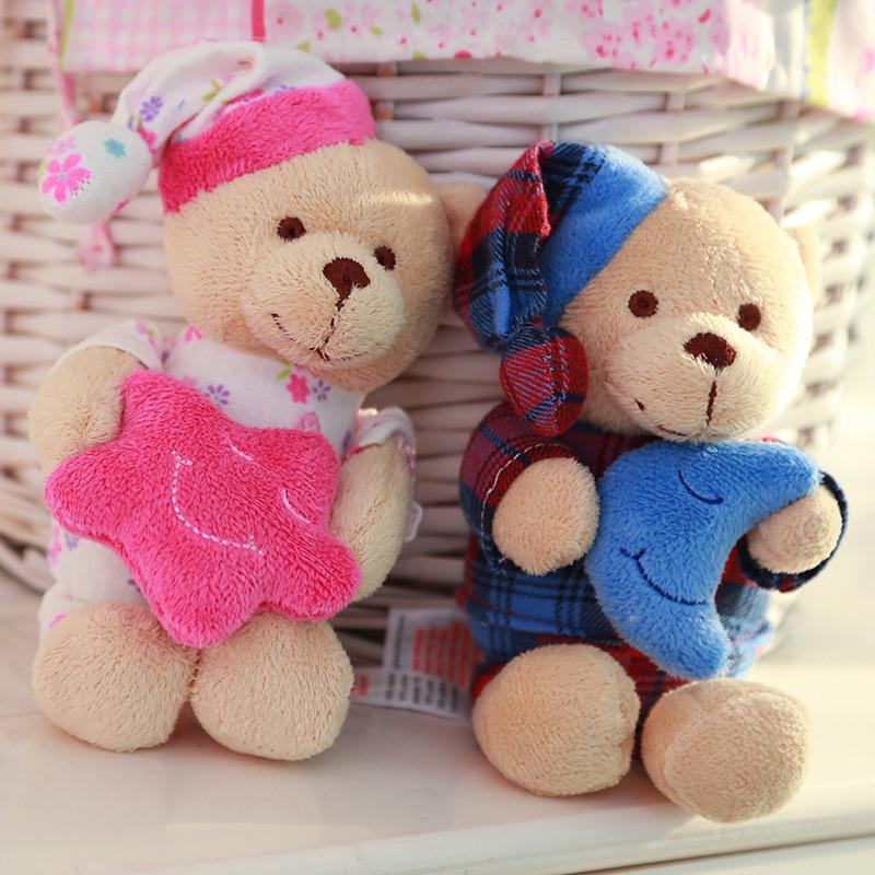 20cm Couple bear teddy bear plush toys birthday gift baby toy Christmas gift wedding gift(China (Mainland))