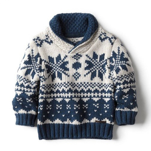 New 2015 autumn winter sweater children clothing baby boys knitted sweater pullover kids Casual Knitwear coat(China (Mainland))