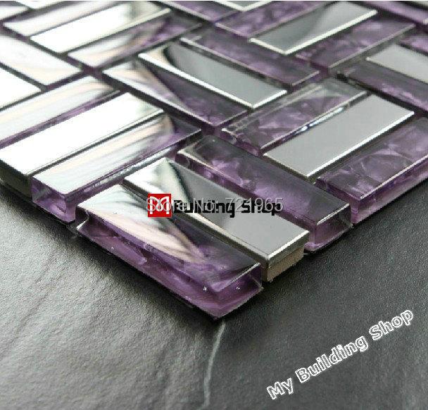 Stainless steel tile metal mosaic glass tile for bathroom wall SSMT025 stainless steel backsplash kitchen tiles mosaic tile<br><br>Aliexpress