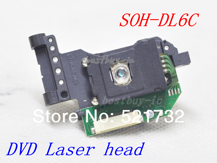 20 pcs/lot) DL6C Original SOH-DL6 laser head / SOH-DL6C / SOH-DL6CH / SOH-DL6 DVD optical pick up(China (Mainland))