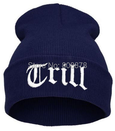 9 colors Beanies Sport Knitted Embroidery TRILL Caps Casual Hats Acrylic knit wool Street Hip-Hop Skullies Men/ Women - Bayo Factory store