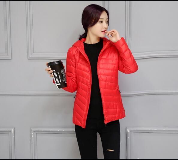 Скидки на Горячая! 2016 новых женских зимнее пальто теплое пальто Тонкие модели женщины пуховик девушку Пальто Куртки женщины Вниз Парки