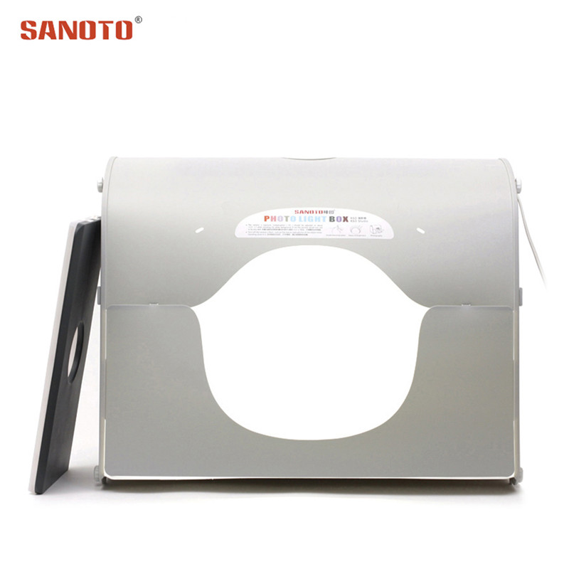 Sanoto Professional Photographic Lighting Softbox Photo Photography Studio led photo Light Box k60 for 220 110V