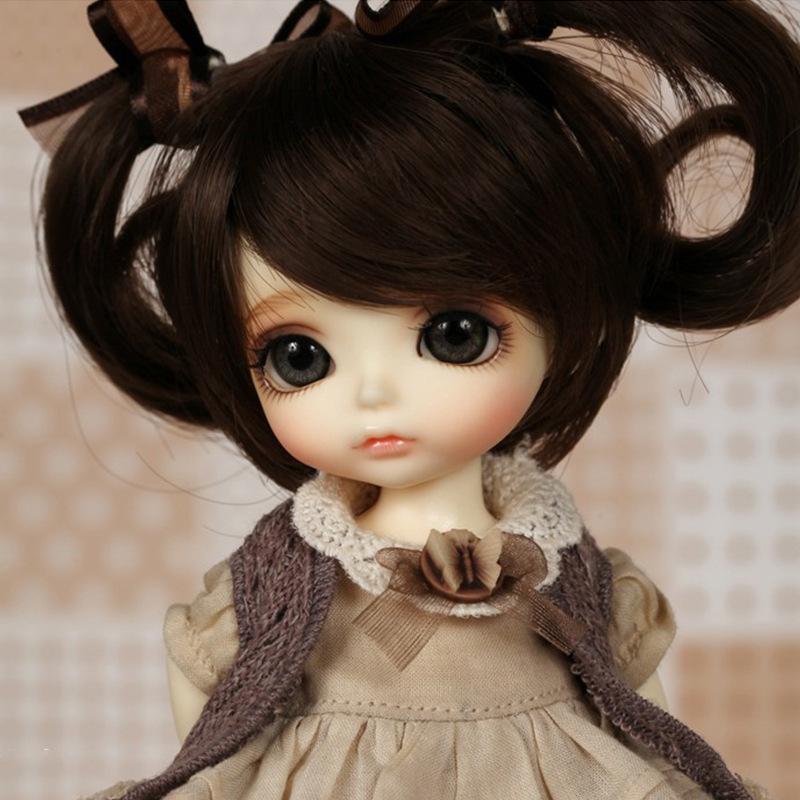 1/8 Fashion Lati Yellow Doll Coco Lumi Sunny SD BJD Blank Dolls Gift for Girl Ball Joint Resin Kit Yosd Luts Volks Soom(China (Mainland))