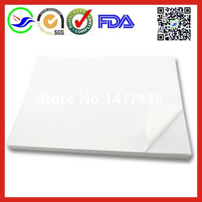 200 sheets A4 synthetic paper Asia white PVC waterproof stickers sticker tear black PP blank print labels used for laser printer(China (Mainland))