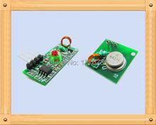 Free Shipping!!! 433 Mhz super-regenerative module / wireless transmitter module / burglar alarm transmitter (one pair) module(China (Mainland))