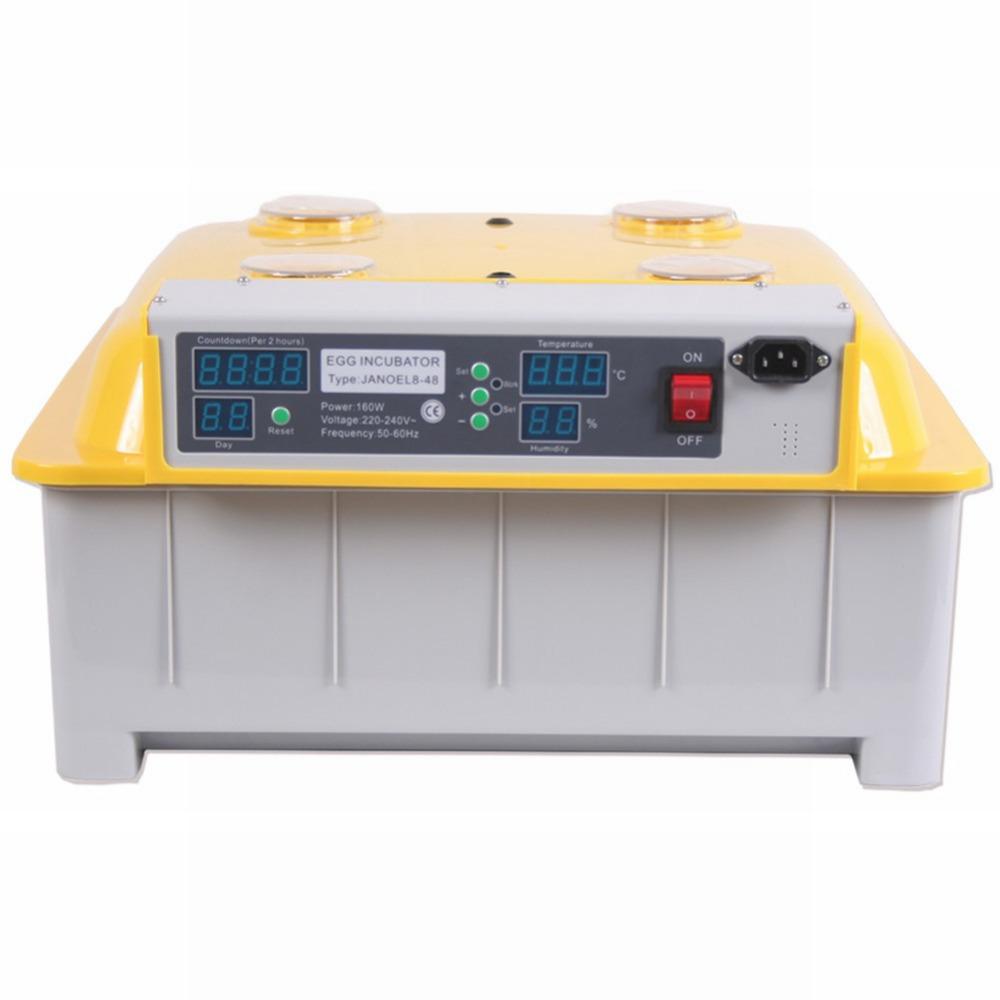 Инкубатор для куриных яиц 48 WINDOWS JN8-48 автоматический инкубатор 1000 яиц