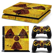 Fast Shipping Special Design Decal Skin PS4 console Cover For Playstaion 4 Skin Stickers+ 2Pcs Controller Protective Skins(China (Mainland))