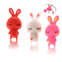 Buy USB 128GB white rabbit USB Flash Drive Memory Stick/thumb 4gb 8g 16g 32g 64g Pendrive tiny external storage U Disk 16 gb flash for $3.91 in AliExpress store