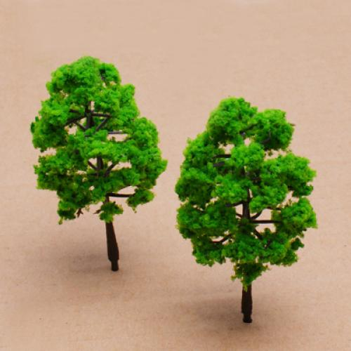 10PCS Model Plastic Trees Model Train Railroad Trunks Scenery Landscape Architectural Model Train Layout Garden Scene Wargame(China (Mainland))