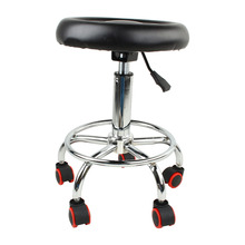 Oversea hot sale 1pcs Hairdressing Salon Chair Equipment Hydraulic Stool Barber Massage Beauty BLACK(China (Mainland))