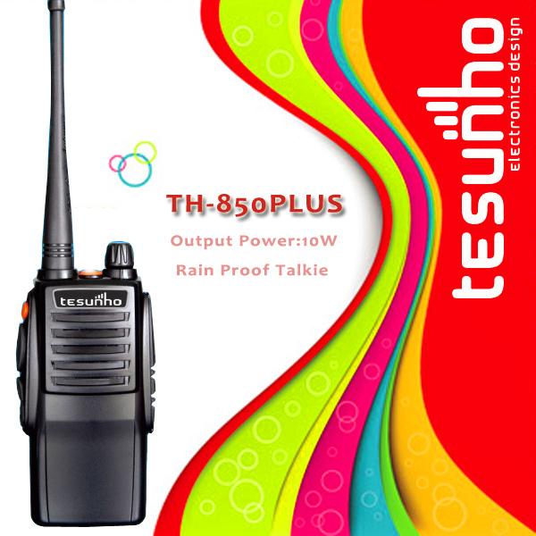 TESUNHO TH-850PLUS high power quality best professional best long range handheld transceivers(China (Mainland))