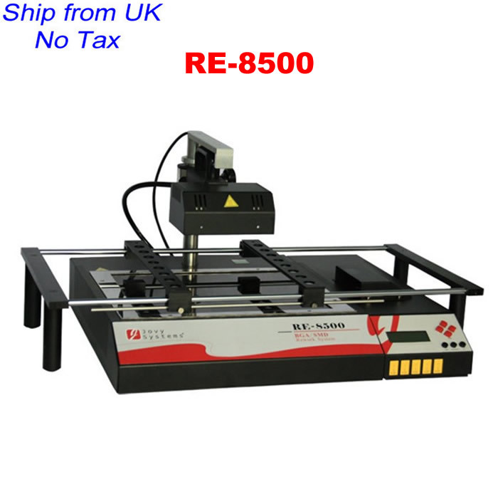UK IN STOCK JOVY system RE-8500 high performance infrared BGA soldering station from UK no tax(China (Mainland))