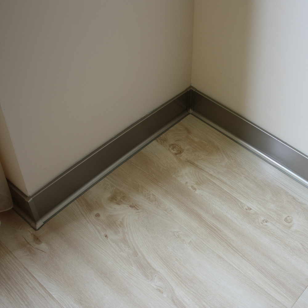 Aluminum baseboard stainless steel skirting feet of Baseboard height
