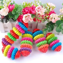 Colorful Rubber Pet Dog Puppy Cat Chew Toy Pet  Training Products