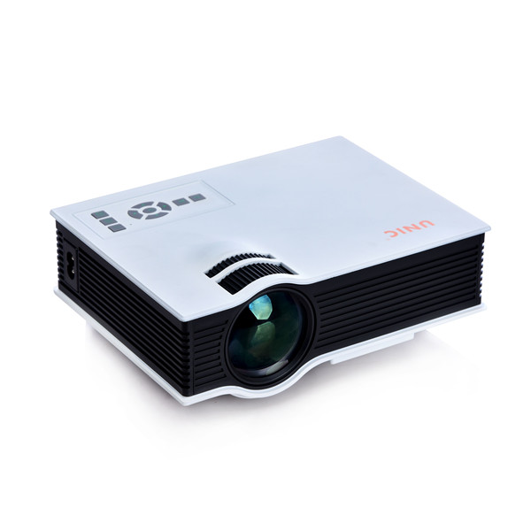 Top quality unic uc40 household hd entertainment led mini for Top rated pocket projectors