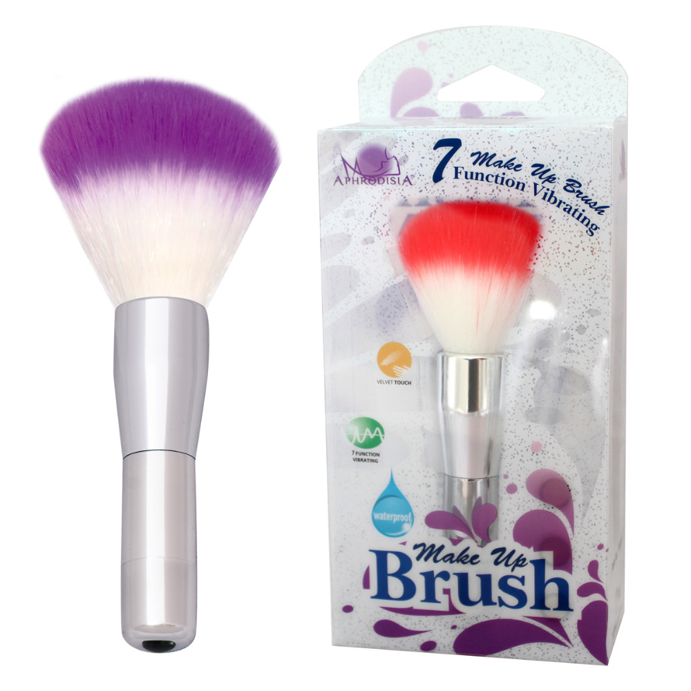 APHRODISIA 2015 Hot Sale Dual Function 7 Frequency Beautiful Makeup Brush Vibradores Mini Bullet Vibrator Sex Toys For Woman<br><br>Aliexpress