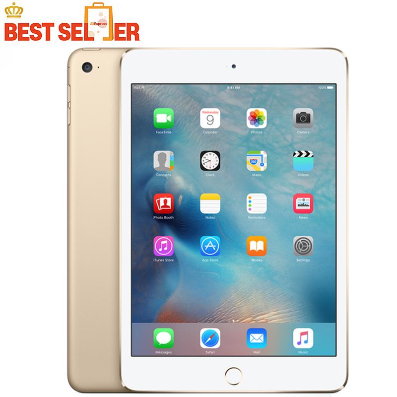 "Original Apple Ipad mini 4 Tablet pc 7.9"" Dual Core 1536* 2048 pixels iOS 9.2 Apple A8 2GB RAM 16GB WIFI Bluetooth(China (Mainland))"
