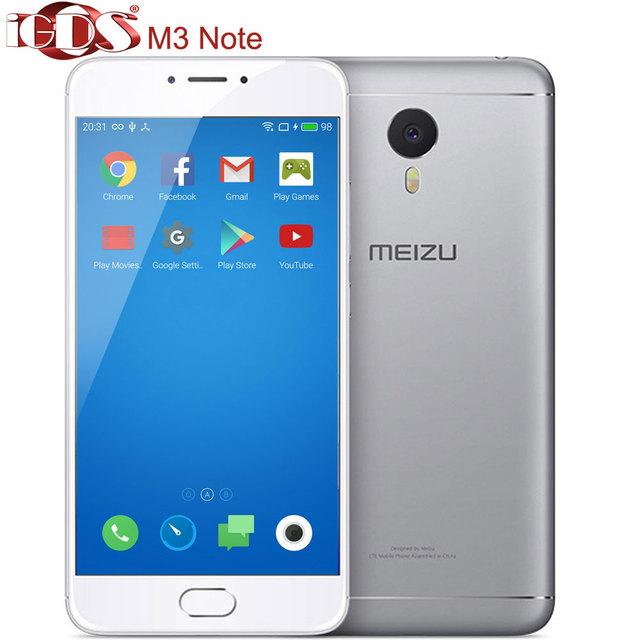 """Original Meizu M3 note 4G FDD LTE 5.5"""" Screen Helio P10 Octa Core 13.0MP Android cell phone"""