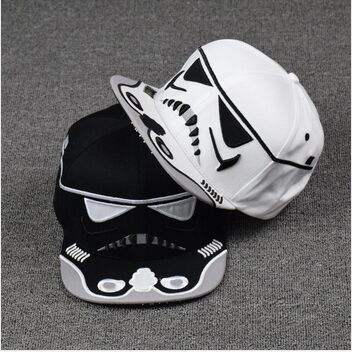 New 2015 Fashion Cotton Brand Star Wars Snapback Caps Cool Strapback Letter Baseball Cap Bboy Hip-hop Hats For Men Women(China (Mainland))