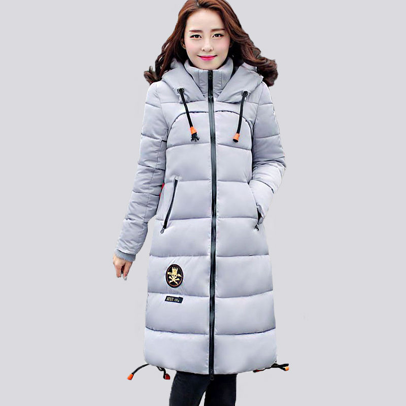 Winter jacket women parka 2016 new winter coat snow wear women long slim thickening warm cotton-padded jacket female outerwear(China (Mainland))
