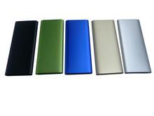 free shipping full metal 100% real capacity 5000mah usb slim portable mobile power bank