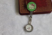 Free Shipping retail hot sales high quality cartoon hello kitty women girls nurse alloy Stainless steel