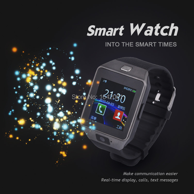 2016 hot sale Bluetooth Smartwatch anti lost smart watch DZ09-2 for Samsung S4/Note 3 HTC Android Phone Smartphones