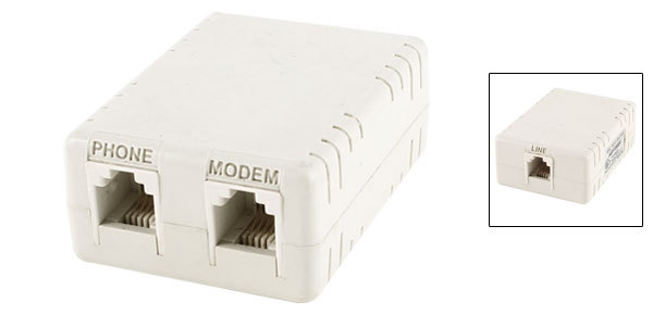 Аксессуары для телефонов FK RJ11 6P4C ADSL  RJ11 6P4C ADSL Splitter Filter аксессуары для телефонов fk rj11 6p4c adsl splitter filter
