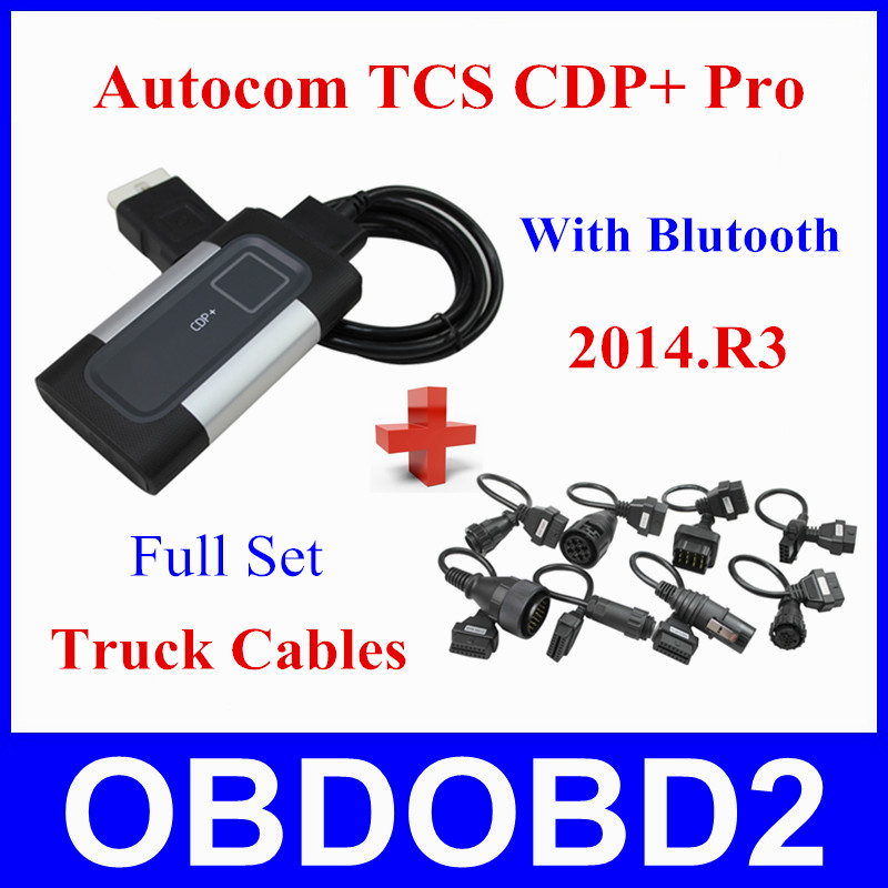 Best Quality Autocom 2014.R3 Bluetooth Free Active TCS CDP+ PRO Full Set Truck Cables Function DS150