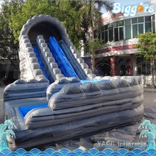 Free Sea Shipping Commercial Large Inflatable Wave Water Slide with Pool for Kids and Adults(China (Mainland))