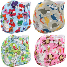 Baby Nappy Cover Couches Lavables Size Adjustable Baby Cloth Diaper Cover Pocket Brand Character Reusable Baby Diapers Washable(China (Mainland))