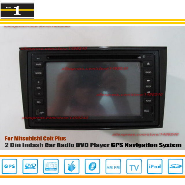 For MITSUBISHI Colt Plus 2007~2012 - Car Radio Stereo CD DVD Player / HD Touch Screen Audio Video GPS Navigation System(China (Mainland))