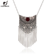 2016 New Maxi Necklace Fashion Ethnic Collares Vintage Pendant Statement Necklace For Women Jewelry(China (Mainland))