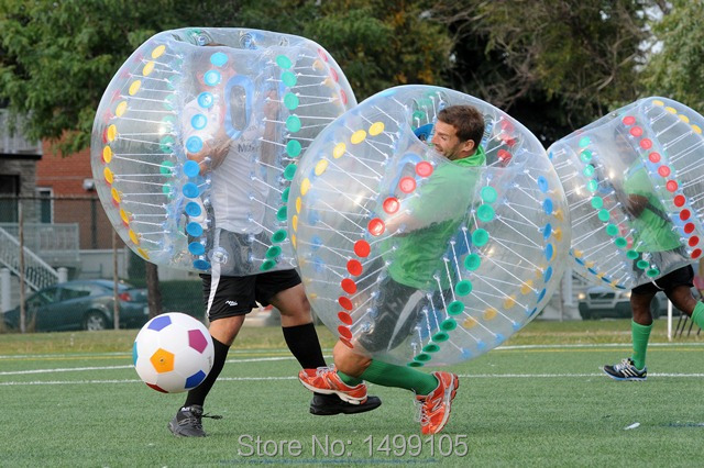 Sports Games For School Teams 1.5m PVC Inflatable Loopy Ball, Good Quality Inflatable Bubble Soccer, Zorb Ball For Kids(China (Mainland))