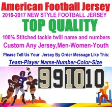 Best Quality American Football Jerseys 9 drew brees Sheldon Rankins Kenny Vaccaro Brandin Cooks Jimmy Graham Cheap Custom Jersey(China (Mainland))