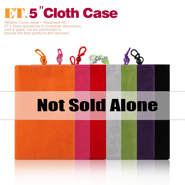 Bundle Sale High Quality soft cloth case  for 5inch 5.3inch 5.5inch 5.7inch phone psp mp4 (not sell alone !!!)