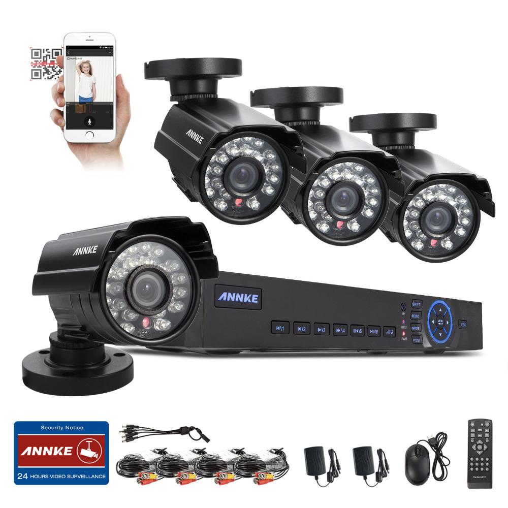 ANNKE 8CH 960H HDMI DVR 800TVL CCTV Video CCTV Surveillance Security Cameras System UP to 4TB(China (Mainland))