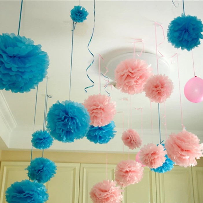 Diy Birthday Wall Decor : Decorative flower garland picture more detailed