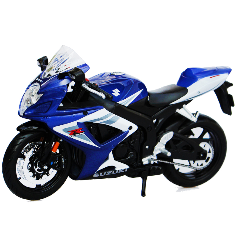 Simulation Miniature 1:12 Street Motorbike GSXR 750 Scale Metal Car Model Diecast Men Toys Collection Best Gift(China (Mainland))