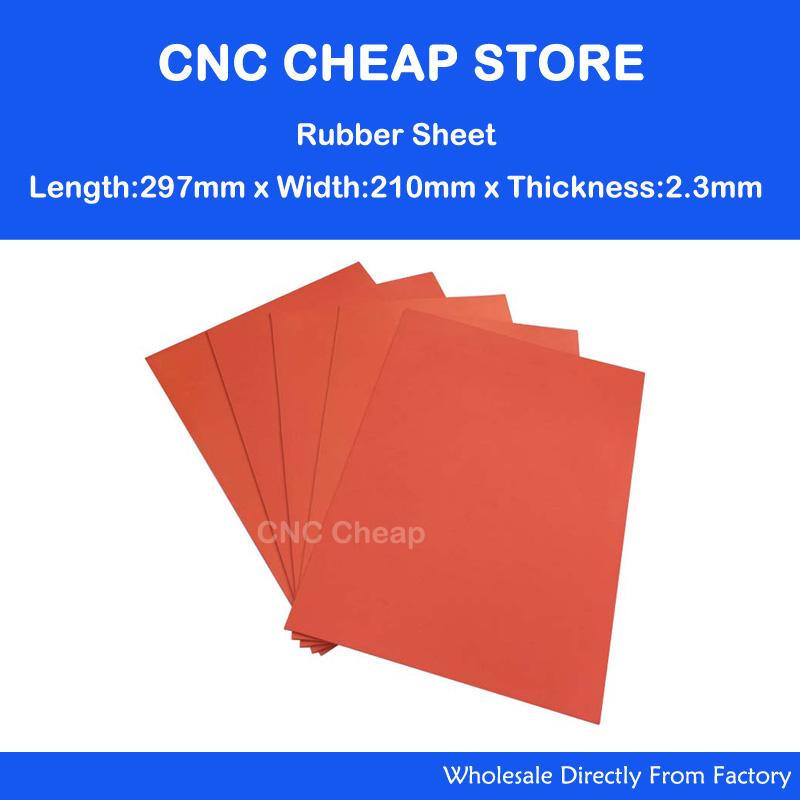 laser engraving rubber sheet A4 2.3mm odourless laser rubber sheet(China (Mainland))