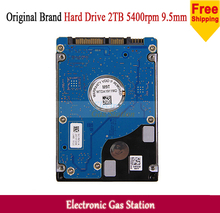 New Laptop 2TB HDD 2.5 inches SATA III 9.5mm 5400rpm 32M Cache Laptop Hard Drive(China (Mainland))