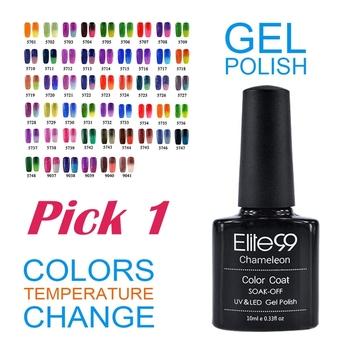 Elite99 ногтей гель-лак изменение температуры цвет уф-гель ногтей инструменты грунтовку ...