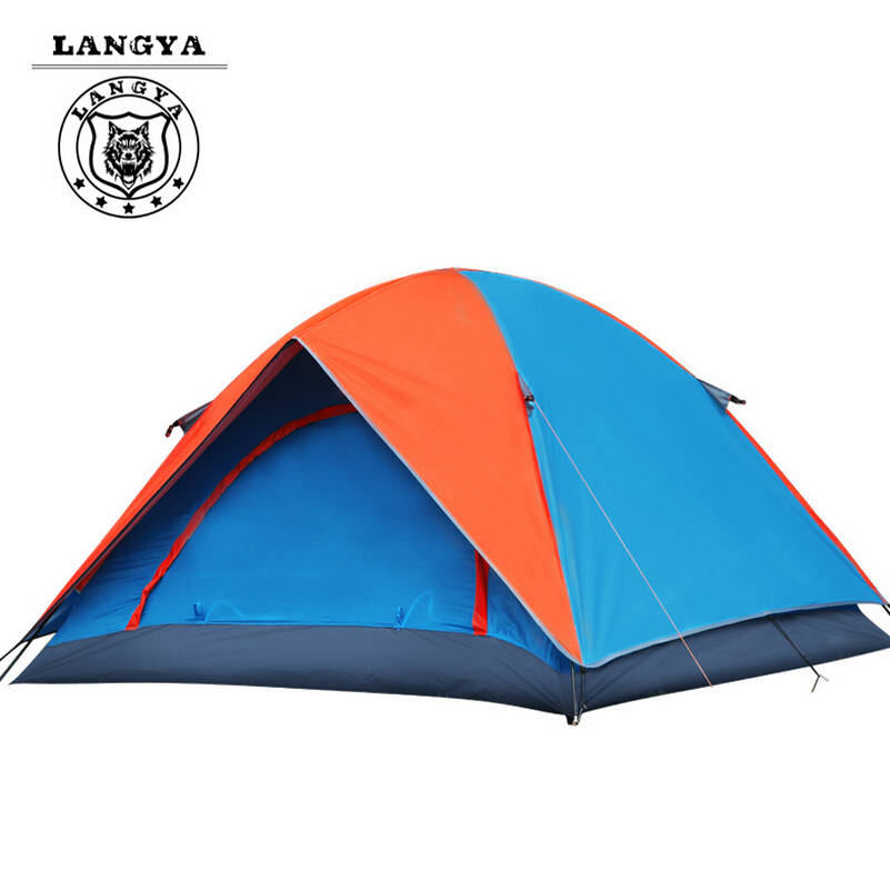 Outdoor camping tent sun beach tent double people awning for fishing waterproof tent  2 persons tourist tents