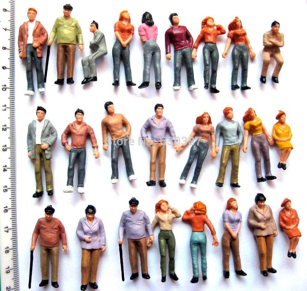 p43 model trains 1 43 scale painted figures o in figurines