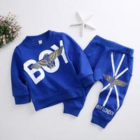 Clothing Set Baby Boy Clothes Fashion Autumn Clothes Sets For Boys Kids Cartoon Boy Eagle Coat