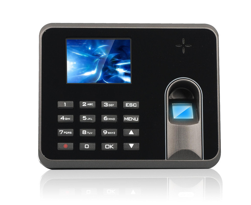 Free Shipping KO-M5 USB Excel Report Fingerprint Time Attendance<br>
